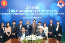 빈그룹, 베트남 축구 개발 지원 강화.., 베트남 축구협회와 전략적 제휴