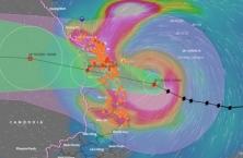 호찌민시 인근지역 내일부터 폭우 예보.., 침수 주의보
