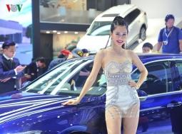 베트남 모터쇼 2018에 등장한 미녀들