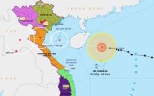 베트남 태풍 7호 '낭카' 북부와 중북부 지역 접근.., 10/14~16일까지 영향