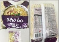 베트남산 인스턴트 쌀국수 발암 물질 발견되어 한국에서 '리콜'