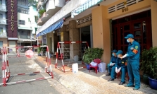 호찌민시: 불법 입국자  또 '양성'으로 확인.., 거주 아파트 전체 봉쇄