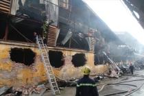 하노이市, 화재 발생한 창고 주변에서 음식물 섭취 주의 권고
