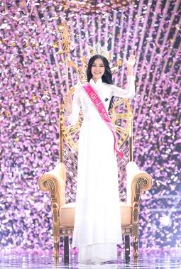 '미스 베트남 2020' 하노이 출신 도티하 우승