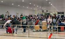 한국인 학생 218명 특별기편으로 어제 베트남 예외 입국