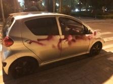 하노이시: 아파트 경비원들이 '자동차 페인트 테러'하다 덜미