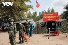 베트남 남서부 지역 불법 입국자의 코로나19 공포로 국경 통제 강화