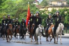 베트남, 기마 경찰대 창설.., 오늘 호찌민 묘소에서 첫 행진