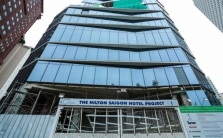 호찌민시: 5성급 호텔 '힐튼 사이공' 투자허가도 없이 건설 진행