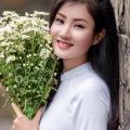 하노이 천연자원환경대학 홍보대사 Chu Thi Thu Huye