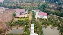 하노이, 오염에 휩싸인 도심 떠나 교외에 자리잡는 부자들.., '전원주택' 인기