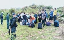 호찌민시: 불법 체류자 증가.., 중국, 아프리카 다수 한국인도 93명