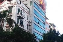 하노이, 한국인 많이 거주하는 지역 8층 건물에서 화재 발생