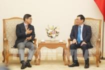 부총리: 삼성베트남 단지장 접견, 삼성전자 올해 수출 베트남 전체의 약 25% 점유