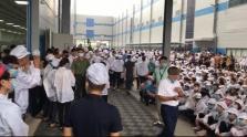 박장성: 중국계 애플 제품 생산 업체 근로자 수천명 파업 후 업무 복귀