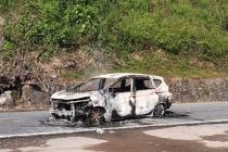 베트남 중부에서 운전중이던 자동차 화재로 2명 사망