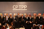 미국빠진 11개국이 모여 TPP 슬림버전 CPTPP 협약 체결