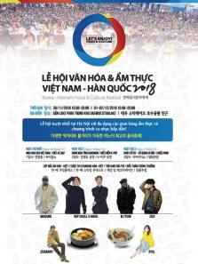 하노이, 베트남-한국 문화&음식 축제..., 11월 30일부터