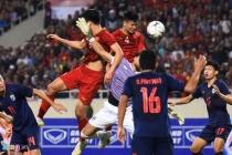 베트남-태국 월드컵 예선전, 0-0 무승부 경기 종료