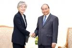 강경화 외교부 장관, WEF ASEAN 참석 베트남 총리와 리셉션