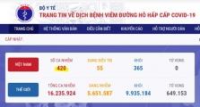 베트남 7/26일 오후 확진자 2건 추가로 총 420건으로 증가.., 모두 지역사회 감염