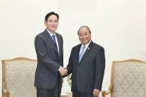 베트남 총리, 삼성그룹에 '베트남을 최대 생산 허브'로..., 긴밀한 협력 관계 구축