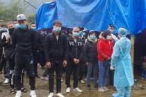 까오방省, 약 100명 이상 중국에서 불법 입국.., 국경선 경계 강화