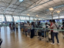 한국에서 약 250명의 베트남인들 안전하게 귀국
