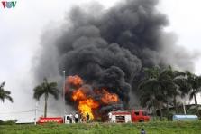 하노이, 롱비엔 화학창고 화재로 주변 대기오염 20배 증가