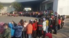 남딘성: 뗏 상여금 지급 중단 소식에 수천 명의 근로자 파업