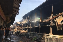 하노이, 전구 공장 화재 지역 안전 기준의 약 10~30배 수은 오염