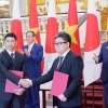 일본 스가 총리 베트남 방문 중 약 37억 달러 상당 투자 양해각서 체결