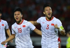 월드컵 예선 3차전 베트남-인도네시아에 3-1 승리