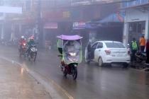 하노이, 밤부터 비내리고 날씨 추워져.., 북중부 지역에 걸쳐 기온 하락