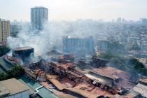 하노이, 화재 발생 전구 공장 대표.., 액체 수은 대량 사용 인정
