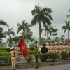 베트남 경찰 행진 장면
