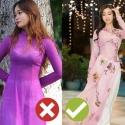 베트남 전통의상 아오자이 입을 때 조심해야 할 4가지