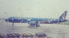 하노이시: 공항에서 일하던 항공기 정비사가 번개 맞아 사망