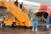 하노이, 한국발 항공편 번돈국제공항 도착 후 특별 검역