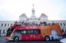호찌민市, 시내 관광용 2층 투어버스 운행
