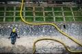하노이 중심부 흐르는 오염된 하천.., 일본계 나노 기술도 제거 실패