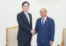 베트남 총리, 이재용 부회장과의 만남에서 반도체 투자 제안