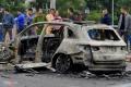 베트남, 여성 운전자가 하이힐 신고 밴츠 운전하다 실수해 1명 사망, 3명 부상