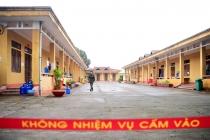 베트남, 중국에서 귀국한 베트남인들의 격리 구역.., 군 내무반 생활