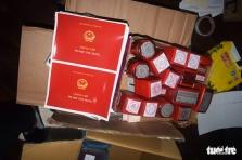베트남, 일주일에 200장 이상의 위조 증명서 판매 조직 체포