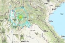 라오스에서 6.1규모의 지진 발생, 하노이 아파트에서도 흔들림 감지