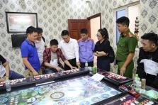 박닌성, 불법 도박장 급습해 현장에서 중국인 24명 체포