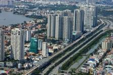 호찌민시: 지하철 1호선 주변 아파트 가격 급증.., 내년 운행 목표