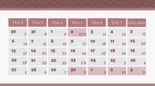 베트남, 4월말부터 5월초까지 4일간 연휴 계획
