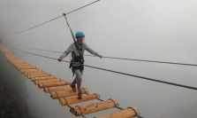 여행: 사파에서의 아찔한 경험.., 고공 현수교 '천국의 문'